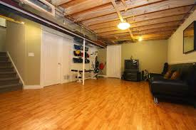 Exposed Basement Ceiling Lighting Ideas by The Popular Options Of Basement Ceiling Ideas Midcityeast