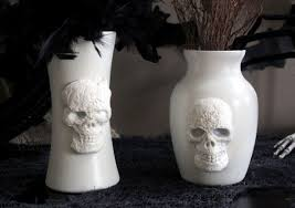 Pottery Barn Skull Vases s and for