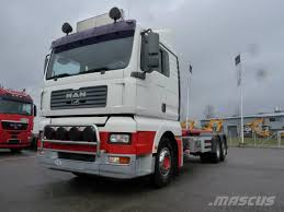 Used MAN TGA 26.480 LL 6X2-2 Container Frame Trucks Year: 2004 Price ...