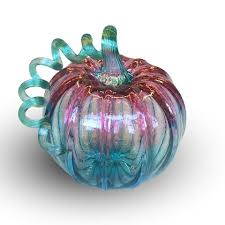 Blown Glass Pumpkins Boston by Pumpkins Tagged