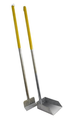 "Flexrake Small Scoop and Spade Set - 48"" Alumilite Handles"
