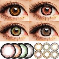 Prescription Halloween Contacts Ireland by Kumiko Miss Coco Halloween Contact Lens Big Diameter Fruitcolor