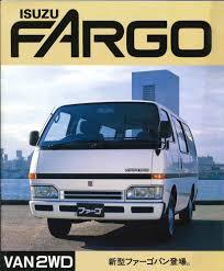 Japanese Brochure ISUZU FARGO VAN2WD Sales Classic Car Catalog ...