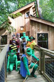 Crossroads Village Halloween by Treehouse Masters Came To For Mar And Built Something Amazing