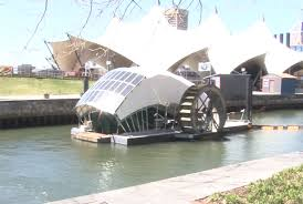 Baltimore County Christmas Tree Pickup 2016 by In Baltimore U0027s Inner Harbor Mr Trash Wheel Rakes It In Video