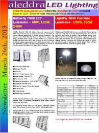 LightFly 5000 datasheet aleddra LightFly™ 5000 Balloon Light is