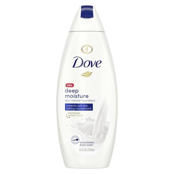 Dove Deep Moisture Nourishing Body Wash - with Nutrium, 12oz