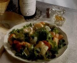 cuisiner lentilles s hes recette salade de langoustines