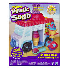 100 Toy Ice Cream Truck Kinetic Sand Build Mold Build It Playset Modelling