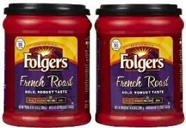 Fresh Taste Of Folgers Coffee French Roast Flavored Ground Bold Robust