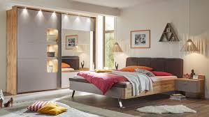 schlafzimmer monaco 4 teilig basaltgrau wildeiche mit spiegel