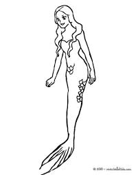 Group Of Lovely Mermaids Swimming Beautiful Mermaid Coloring Page