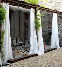Pottery Barn Indoor Outdoor Curtains by Fabulous Drop Cloth Outdoor Curtains Decorating Ideas Gallery In