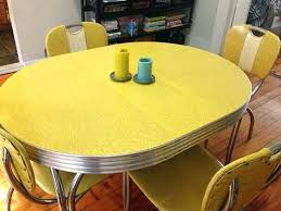 1940s Kitchen Table Large Size Of Of Chrome And Table Vintage