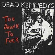 Dead Kennedys Halloween Shirt by Dead Kennedys Too Drunk To Studio Album Promo Shirt 1980s