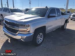 Used 2016 Chevy Silverado 1500 LT 4X4 Truck For Sale In Pauls Valley ...