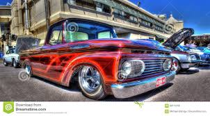 100 Custom Pickup Trucks Painted Ford F100 Truck Editorial Image