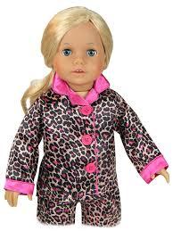 amazon com doll clothing for 18 inch doll pajama set u0026 doll