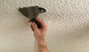 popcorn ceilings asbestos exposure