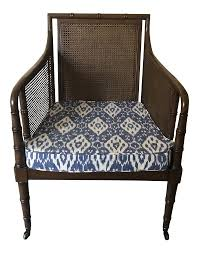 Mid-Century Faux Bamboo Cane With Blue Ikat Seat Armchair Lily Navy Floral Ikat Accent Chair Navy And Crimson Ikat Ding Chair Cover Velvet Ding Chairs Tufted Blue Meridian Fniture C Angela Deluxe Indigo Pier 1 Imports Homepop Parson Multicolor Set Of 2 A Quick Living Room And Refresh Stripes Whimsy Loralie Upholstered Armchair With Walnut Finish Polyester Stunning And Brown Ideas Ridge Table Eclectic Decatorist Espresso Wood Ode To The Skirted Katie Considers