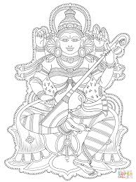 Famous Kerala Mural Artists by Kerala Mural Coloring Page Free Printable Coloring Pages In Shiva