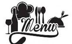 Menu Sign Clip Art Clipart Within