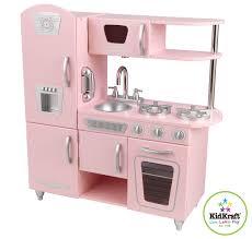 cuisine kidkraft vintage kidkraft pink vintage pretend play kitchen 53179