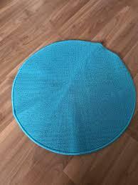 badezimmer teppich rund in blau in niedersachsen laatzen