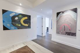 contemporary baseboard trim entry eclectic with wall decor