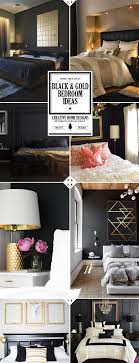 Style Guide Black And Gold Bedroom Ideas