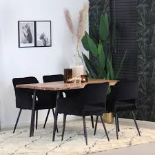 esstisch baumstamm richy akazie 140 x 80 cm kauf auf rechnung