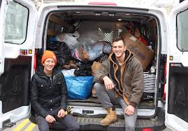New York City Christmas Tree Disposal 2015 by Christmas Tree Brooklyn Recycles Used Trees While Helping Homeless