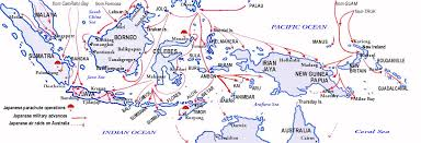 Map Of The Dutch East Indies 1941 1942 By 22 Mar Japanese