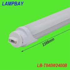 25 pack free shipping led bulb 8ft f96 ho base r17d single