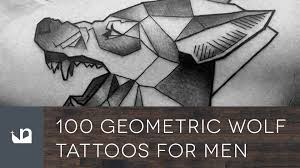 100 Geometric Wolf Tattoos For Men
