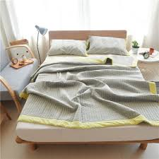 Bape Bed Sheets by Online Get Cheap Grey Cotton Blanket Aliexpress Com Alibaba Group