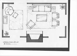 Simple Apartment Room Blueprint Studio Layout Of Nice For Design