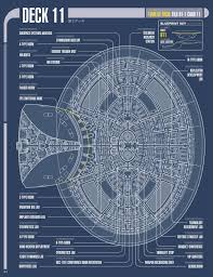 Starship Deck Plan Generator by The Trek Collective Build The Enterprise Issue By Issue