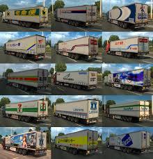 JAPAN TRAILERS TRAFFIC PACK V2.0 For ETS 2 -Euro Truck Simulator 2 Mods