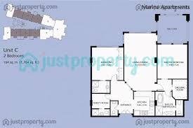 C Floor Plans by Marina Residence Floor Plans Floor Plans Justproperty