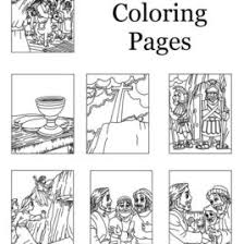 Free Coloring Page Jesus Calms The Storm Empty Tomb A Crafting Word Of God