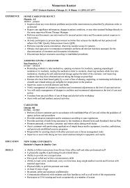 Caregiver Resume Samples | Velvet Jobs