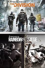 siege xbox one tom clancy s rainbow six siege the division bundle is now