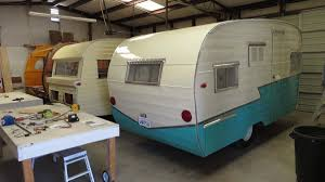 100 Restored Travel Trailer Canned Ham S