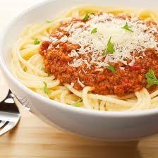 recette spaghettis bolognaise faciles