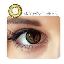 Moorish Prescription Green 12 Month Contact Lenses StunningLens