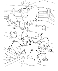Blue Star Animal Coloring Book Pages Best Of Farm For Your Activity