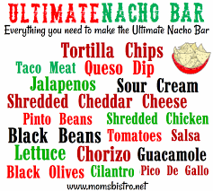 National Nacho Day | How To Make The Ultimate Nacho Bar Plus Easy ... Best 25 Nacho Toppings Ideas On Pinterest Chicken Flavors Caramel Apple Bar Nachos Apples And Superbowl Nachos Build Your Own Chinet Chili Lovelies By Lo February Food Friends Football Fiesta Taco Cinco De Mayo Mretpartyshoppe Marzetti Lil Luna Make This Watch Basketball Everyone Is Happy 374 Best Images Bbq Pulled Buildyourown My Mommy Style Neat Ideataco Bar For The Reception Easy Affordable Yummy