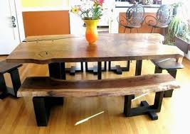 Dining Room Table And Bench Ideal Furniture Benches Unique Modern Farmhouse