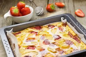 erdbeer apfel blechkuchen